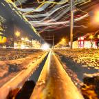 HDR Geisterbahn - Nachts auf der Vahrenwalder