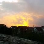 Sonnenuntergang in Neustadt am Rübenberge (Nds)