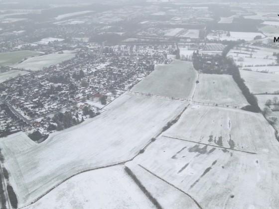 Stockelsdorf Morier Straße im Winter