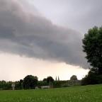 Wolkenband am Drägerpark in Lübeck
