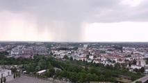 Regen über Lübeck